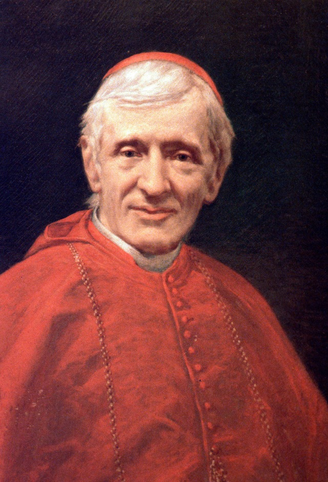 PORTRAIT OF CARDINAL JOHN HENRY NEWMAN