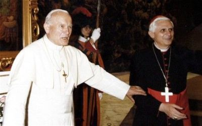 John-Paul II and Benedict XVI