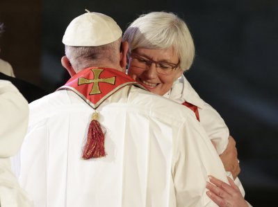 Pope and Antje Jackelen