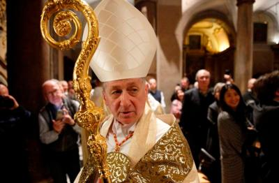 Cupich and big crozier