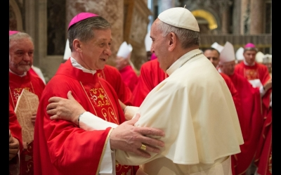 Pope and Cupich