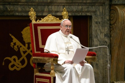 Pope Francis and a letter