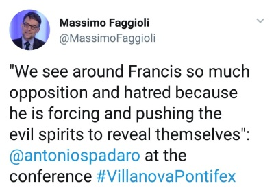 Spadaro on spirits