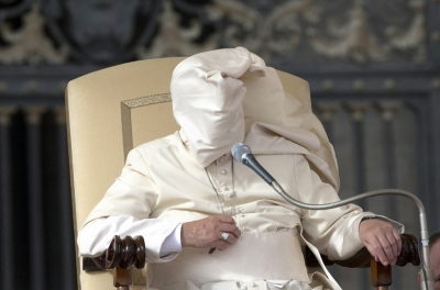 Pope Francis covered up