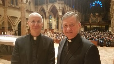 Cupich and Martin